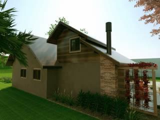 rustic Houses by Cíntia Schirmer | Estúdio de Arquitetura e Urbanismo