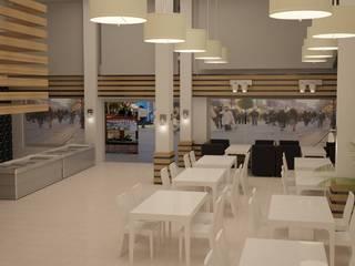 ESRA ÖZDEMİR İÇ MİMARLIK – Lezzet-i Devran Restoran Projesi:  tarz Mutfak
