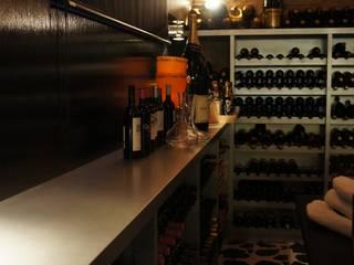 Modern Home Wine Cellar by Isa de Luca Modern