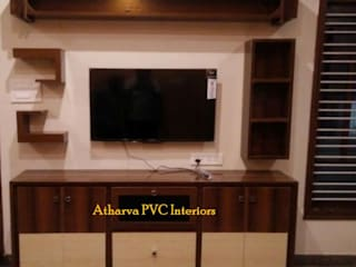 PVC Tv Showcase:   by Atharva PVC Interiors