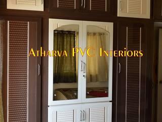 PVC Wardrobes: modern  by Atharva PVC Interiors,Modern