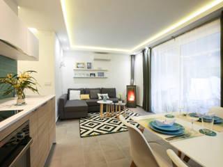 DIKA estudio Mediterranean style living room