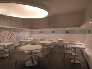 """""""Cristall Bar"""" Bar & Club moderni di Massimo Viti Architetto studio Architectural Make-Up+ Moderno"""