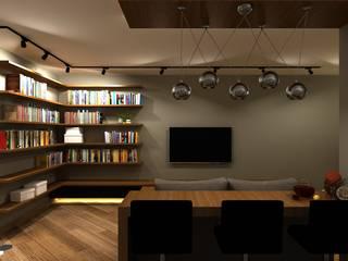 Skandinavische Wohnzimmer von AM Design Skandinavisch