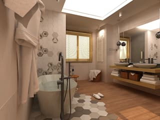 Ausgefallene Badezimmer von AM Design Ausgefallen