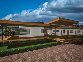 Rumah Gaya Country Oleh CM Arquitecto Country