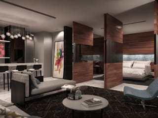 Art.chitecture, Taller de Arquitectura e Interiorismo 📍 Cancún, México. Modern Study Room and Home Office