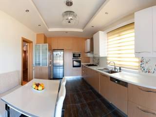 Attelia Tasarim Eclectic style kitchen Wood effect