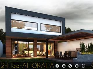 LG/L2/M55/AMORADA Casas industriales de MONACO GRUPO INMOBILIARIO Industrial