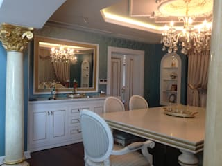 Classic style dining room by Attelia Tasarim Classic