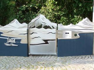 모던스타일 정원 by Edelstahl Atelier Crouse: 모던