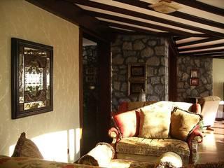 Öykü İç Mimarlık – Dragos Villası:  tarz Oturma Odası