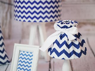 Lampa stołowa Zippo Blue: styl , w kategorii  zaprojektowany przez imoLight