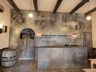 Restyling ristorante: Gastronomia in stile  di Meraki di Irene Mancini