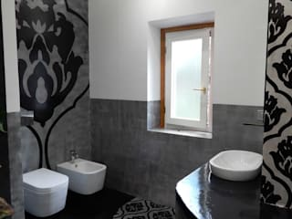Modern bathroom by Meraki di Irene Mancini Decorazione d'Interni Modern