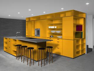 Küche  SW 30 MDF lackiert:  Küche von SW  Retail+Interior Design,Modern