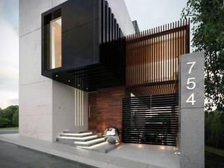 Casa Paraiso Casas minimalistas de Fermin de la Mora Minimalista
