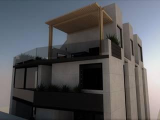 FH Apartments Ver. 1.0: Casas de estilo  por Esse Studio