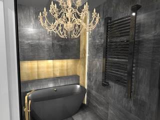 Modern Bathroom by Pracownia projektowania wnętrz Beata Lukas Modern