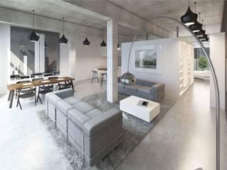 UNIQUE³ Hauser - Architektur Ausgefallene Wohnzimmer