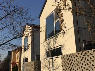 용인 동백주택 #1 건축사사무소 리임 미니멀리스트 주택 OSB 화이트