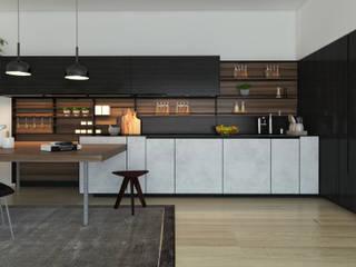 Casa LL: Cucina in stile  di SlowMonkey arch.