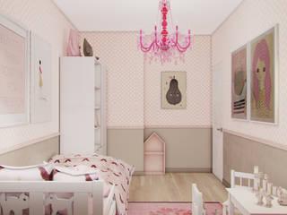 Детская комната в стиле модерн от Studio Aranżacji Agnieszka Adamek Модерн