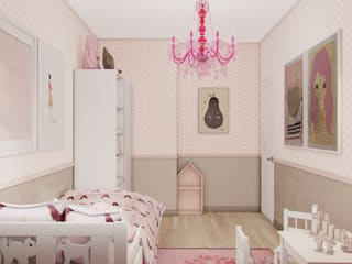 Dormitorios infantiles de estilo  por Studio Aranżacji Agnieszka Adamek
