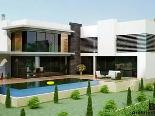 Benid Mimarlık Bürosu – Çatalköy-Kıbrıs Villa O.:  tarz Evler,