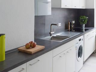 ARTfischer Die Möbelmanufaktur. Modern style kitchen White