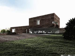 Dom z Kaszubami w tle: styl , w kategorii  zaprojektowany przez RTP Consulting Sp. z o.o.