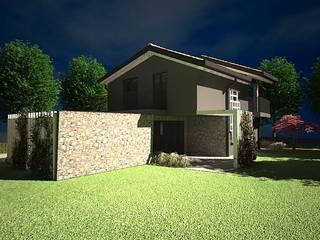 Casa Passiva 001_Milano:  in stile  di Giorgio Gravina Architetto
