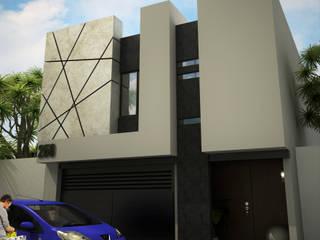 Casas de estilo minimalista de 3D MarqJes arquitecto Minimalista