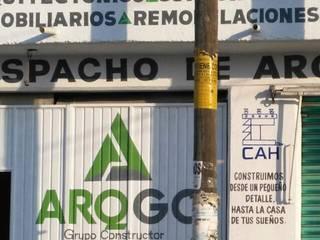 Casas minimalistas por ARQGC GRUPO CONSTRUCTOR Minimalista