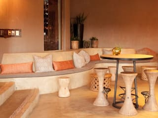Madikwe Hills Private Game Lodge :  Bars & clubs by Nowadays Interiors