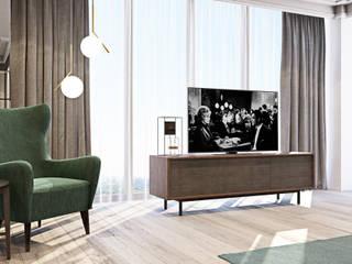 Квартира в стиле ретро Гостиная в классическом стиле от OBJECT Классический