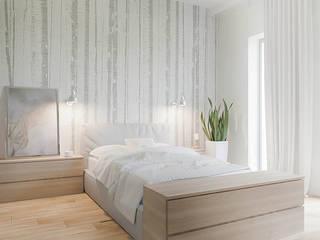 Dom w Margaretkach: styl , w kategorii Sypialnia zaprojektowany przez JSK STUDIO