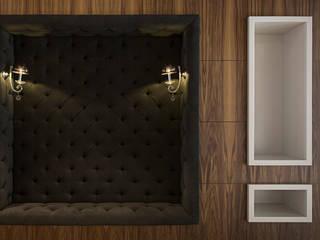 Strefa recepcji - loża: styl , w kategorii Bary i kluby zaprojektowany przez RPS Architekci