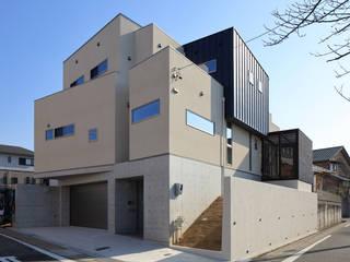 Yokobuki House 川島建築事務所 モダンな 家