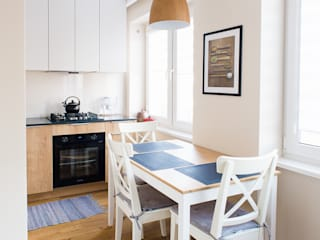 Scandinavian style kitchen by IN STUDIO PRACOWNIA PROJEKTOWA Scandinavian