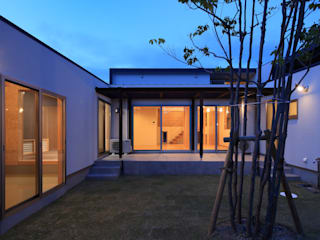 Toyoake House 川島建築事務所 モダンな 家