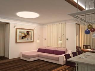 Современный классицизм: Гостиная в . Автор – Студия Архитектуры и Дизайна Марии Тупикиной, Классический