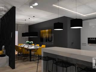 Dom  dla rodziny 2+2  / Warszawa Bemowo: styl , w kategorii Jadalnia zaprojektowany przez TU Design