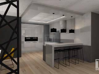 Dom  dla rodziny 2+2  / Warszawa Bemowo: styl , w kategorii Kuchnia zaprojektowany przez TU Design