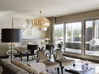 Modern Living Room by Isa de Luca Modern