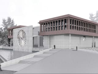INDIAN NATIONAL WAR MUSEUM International Competition - 2016: colonial  by Horizon Design Studio Pvt Ltd,Colonial