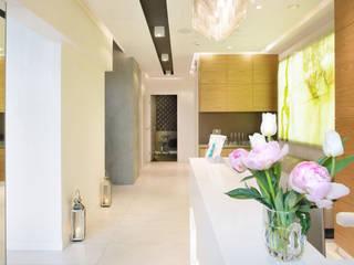 Recepcja: styl , w kategorii Kliniki zaprojektowany przez RPS Architekci