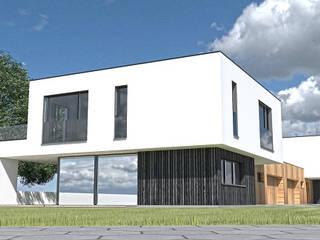 Domy Tychy: styl , w kategorii  zaprojektowany przez MiA Projektowanie Michał Kanclerz