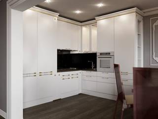 Cocinas de estilo clásico de Студия дизайна интерьера Маши Марченко Clásico
