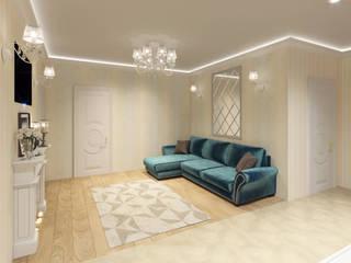 Classic style living room by Студия дизайна интерьера Маши Марченко Classic